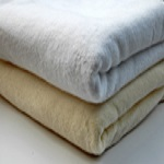Cotton Blanket (White or Beige)